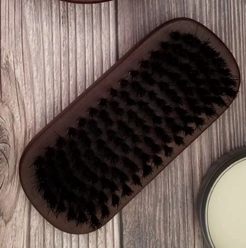 beard brush by made to lather