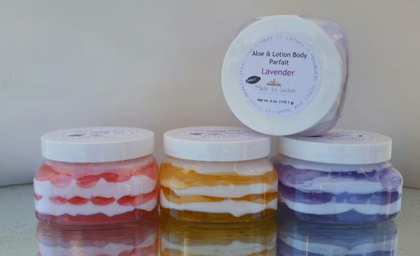 group of body parfaits by Made to Lather
