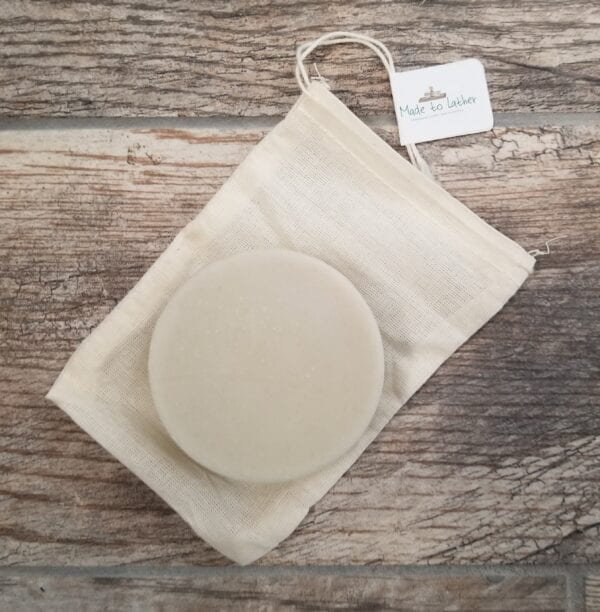 bar of shaving soap by made to lather