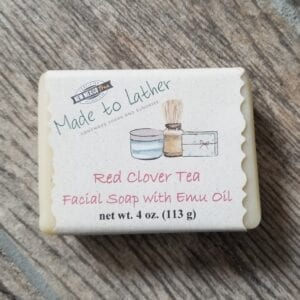 Facial Bar of Red Clover Tea by Made to Lather